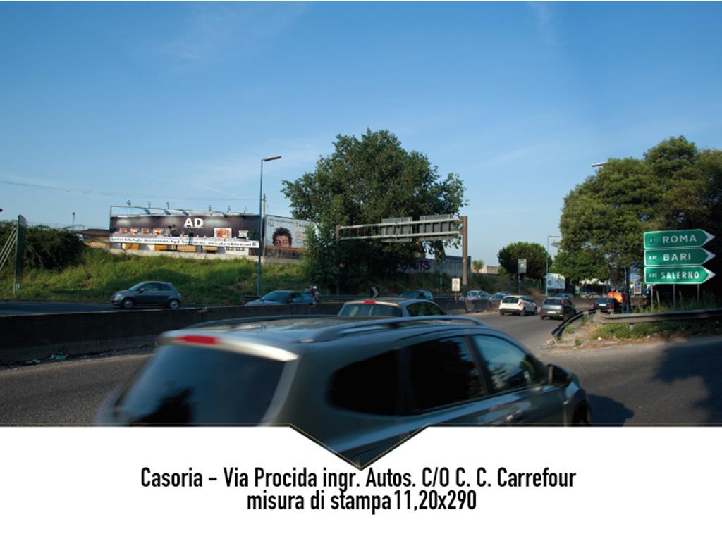 Napoli via Procida ing. Autostrada Carrefour