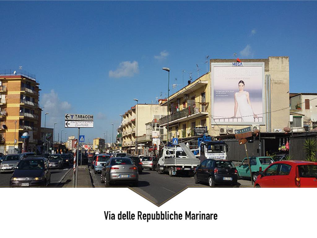 Napoli via delle Repubbliche Marinare